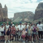 Group shit at Canyon de Chelley
